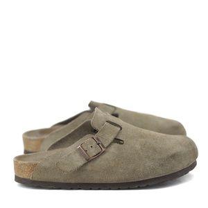 Birkenstock's   brown suede clogs size 37